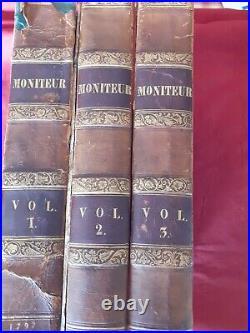 GAZETTE NATIONALE ou LE MONITEUR UNIVERSEL 3 Vol 1792 (chute de l'ancien régime)