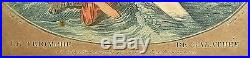 GRAVURE POLYCHROME 18è LE TRIOMPHE de GALATHEE Marin Bonnet JB Huet 23,5x17,7cm
