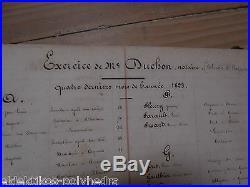 Généalogie / Registre notaire / Anthroponymie / 1823 à 1851 / Happonvilliers