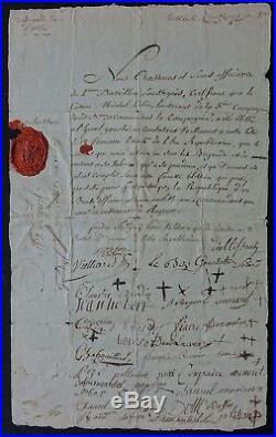 Général GRATIEN autographe / Guerres de Vendée