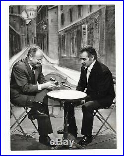 Georges Brassens / Archives Photographiques D'époque / Années 60-70 /