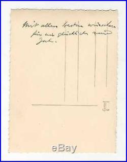 Georges De Grèce / Photographie Originale Dédicacée Et Signée / Marie Bonaparte