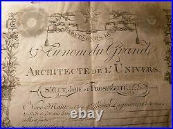 Grand Orient De France Loge Militaire Les Amis Philantropes Bruxelles 1812