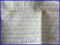 Grand parchemin 1413 a déterminer