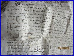 Grand parchemin 1436 a déterminer