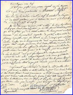 Guerre De Vendée / Lettre Autographe Du Général Woirgard (1794) / Stofflet