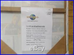 HALLYDAY autographe Johnny HALLYDAY dedicace Tableau 9 Covers Très Bon Etat