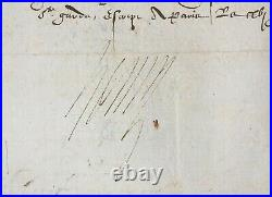 HENRI III Roi de France Lettre signée Demande au Pape 1585