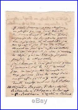 Honoré De Balzac / Lettre Autographe (1833) / Au Sujet De La Comédie Humaine