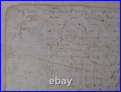 Ile de GROIX. 24 mai 1536. Baillée delIle de GROIX. 1536