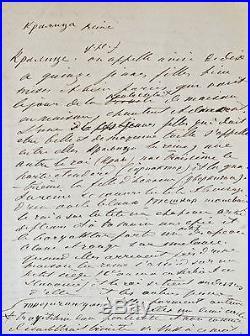 Important manuscrit sur les coutumes serbes et le vampirisme