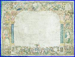 Italie Royaume de Naples & 2 Siciles Exceptionnel Parchemin Enluminé 1560/1580