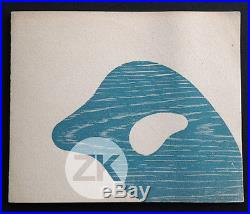 JEAN ARP HANS Peinture GALERIE MAEGHT Exposition Carton Invitation 1950