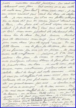 Jacques Mesrine / Lettre Autographe (1977) / Alors Qu'il Est Au Mitard / Evasion