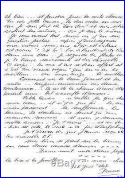 Jacques Mesrine Lettre Autographe (prison De Fresnes / L'instinct De Mort)