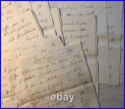 Jean JAURES Manuscrit autographe signé. 31 pages! Juin 1906. L'Humanité