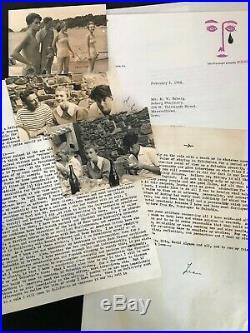 Jean Seberg / Archives Autographes (1958) / Otto Preminger / Nouvelle Vague
