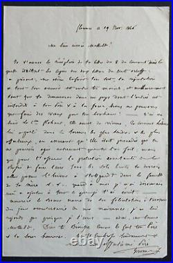 Jérôme BONAPARTE, frère de NAPOLEON, autographe sur Anatole DEMIDOFF #3