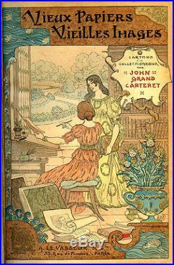 John Grand-Carteret VIEUX PAPIERS VIEILLES IMAGES. 1896, E. O