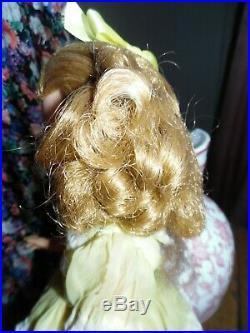 Jolie poupée IDEAL SHIRLEY TEMPLE tt d'origine 37 cm