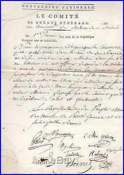 Journée De Prairial (1795) / Document Historique / Revolution Francaise