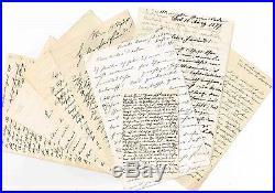 Judaïsme / Importante Correspondance Au Sioniste Max Nordau D'allemagne Hongrie