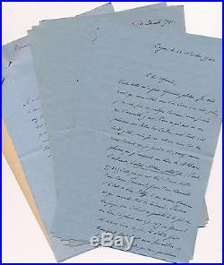 Jules Bertaut littérature correspondance 12 lettres autographes signées lot