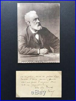 Jules Verne Autographe