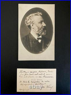 Jules Verne Autographe Original