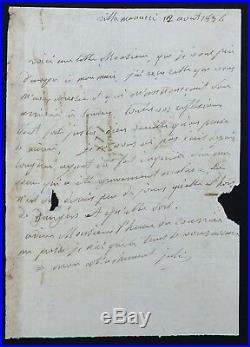 Julie CLARY autographe (épouse de Joseph BONAPARTE)