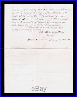 L26-autographe-antoine De Saint-éxupéry-aviateur-poète-lycée Saint-louis-1917