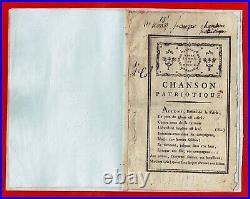 L43-la Marseillaise-rouget De L'isle-chanson Patriotique-14 Juillet 1795