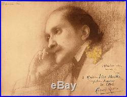 L5-autographe-edmond Rostand-eugène Pascau-peinture-crevaux-photographe-1901
