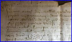 LA15 VELLUM PARCHEMIN MANUSCRIT MANISCRIPT 15th century 15ieme siecle 1410 Gevau