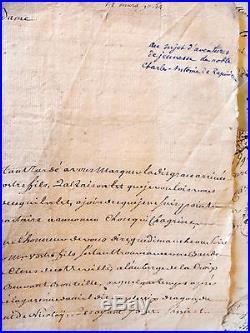 LAC bretagne 18em LOT DE PLUS DE 100 LETTRES Mr DE Stangalen sénéchal à Carhaix