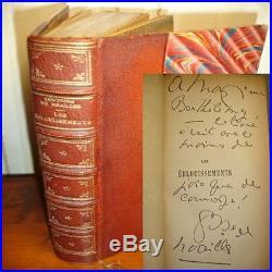 LES ÉBLOUISSEMENTS Comtesse de Noailles EO Bel envoi de l'auteur! Rare