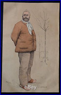 LETTRE AUTOGRAPHE SIGNÉE ÉMILE ZOLA (datée déc. 1886)