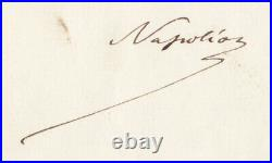 LETTRE SIGNEE du PRINCE IMPERIAL (1856-1879), 19 mars 1876, Camden Place (GB)