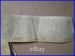 LIASSE 1588/1607 (9 pièces) RENTE TERRES à HANNESCAMP (Pas de Calais)