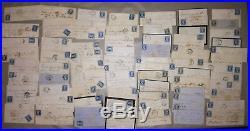 LOT 70 lettre timbre avec CORRESPONDANCE Henriette de ROLL-MONTPELLIER XIX