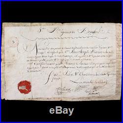 LOUIS BONAPARTE 5e DRAGONS 1800 ÉTATS DE SERVICE DE JOLI-CUR