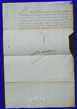 LOUIS XVI Révocation de LETTRE de CACHET 1780 / Tour de CREST