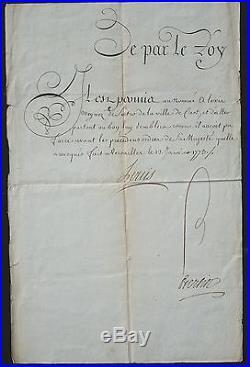 LOUIS XV Révocation de LETTRE de CACHET #2 / Tour de CREST