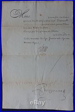 LOUIS XV Révocation de LETTRE de CACHET / Tour de CREST