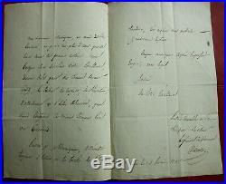 L. A. S. GENERAL VILLATE A JOSEPH BONAPARTE Roi d'ESPAGNE cadix 1812