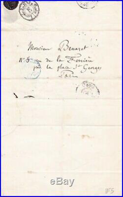 L. A. S. Hector BERLIOZ compositeur à Edouard BENAZET Casino Baden Baden Bade