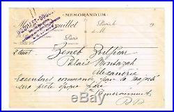 La Reine D'egypte Commande En 1929 Chez Les Grands-couturiers Doeuillet-doucet