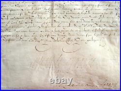 La princesse de Conti, maîtresse d'Henri IV, touche les émoluments de son déf
