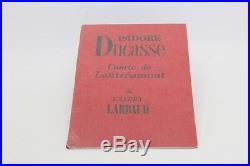 Larbaud Isidore Ducasse Comte De Lautréamont 1957 Eo 1/10 De Tête Sur Hollande