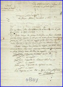 Lazare HOCHE. Général de la Révolution. Lettre Signée